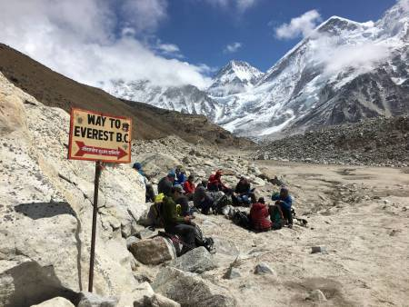 Trekking De 14 Jours Au Camp De Base De L'everest