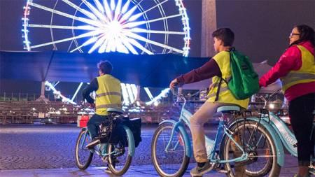 Evening Bike + Boat Tour In Paris