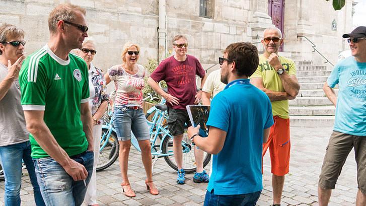Latin Quarter + Le Marais Bike Tour