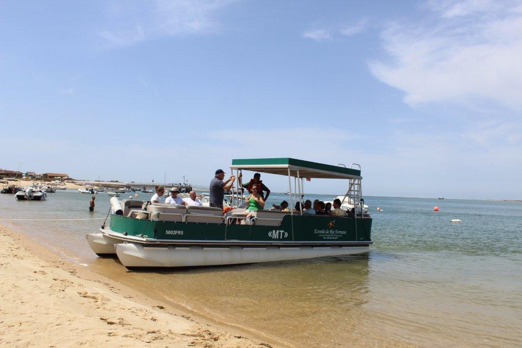 Boat Tour in Ria Formosa From Faro