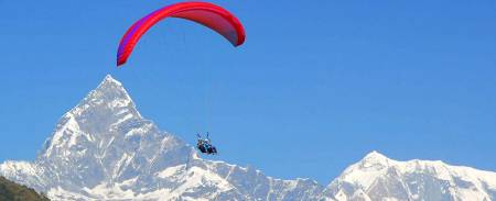 Paragliding In Nepal: Fly Over Pokhara For 30 Minutes