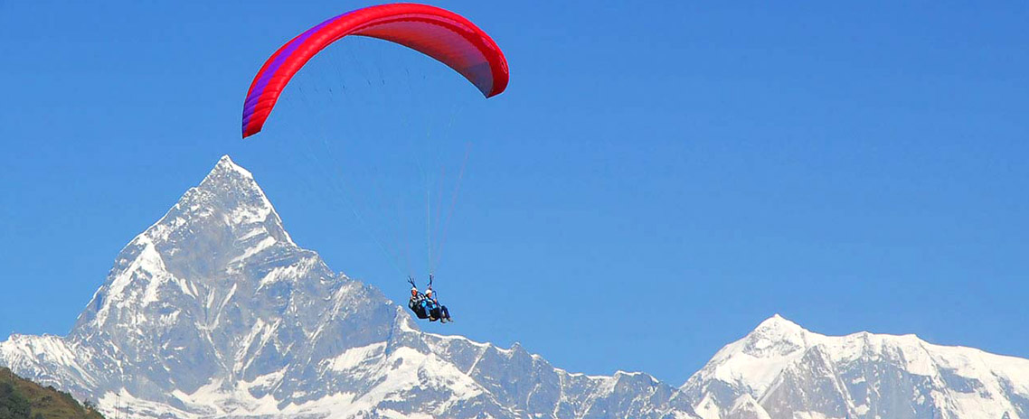 Paragliding In Nepal - 30 Mins