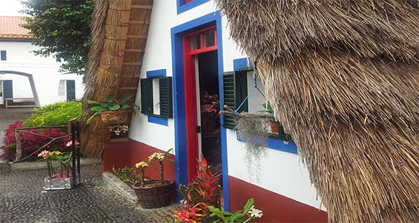 Madeira Island East Tour - A - Framed Houses
