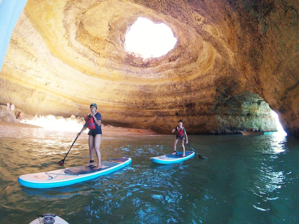 SUP is very popular now, and a bit easier than kayak.