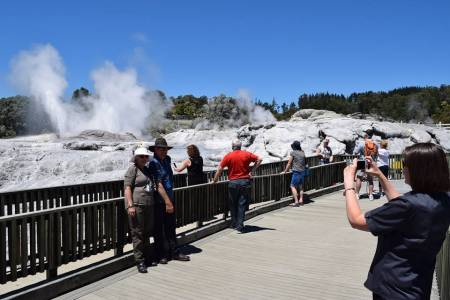 5 Hours Tour To Geothermal Park Waiotapu From Rotorua