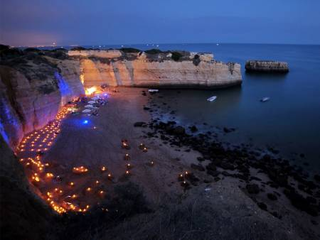 From Albufeira: Sunset Cruise & Barbecue On Secluded Beach
