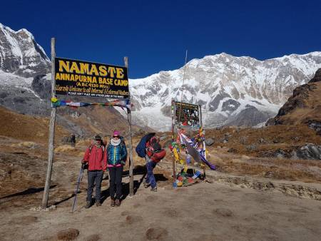 14 Days Annapurna Base Camp Trekking With Jungle Safari