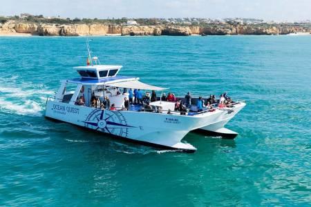 De Vilamoura: 2H30 Tour De Observação De Golfinhos Em Catamarã