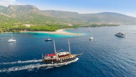 From Split: All Inclusive Full Day Cruise To Bol, Golden Horn Beach In Brač Island