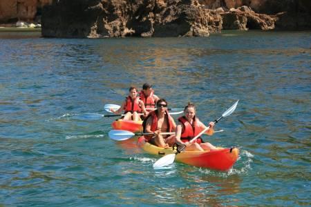 Visite Guidée En Kayak À Ponta Da Piedade Depuis Lagos