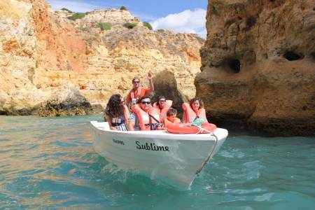 Boat Tour To The Caves Between Armação De Pêra And Benagil & Free Time On A Deserted Beach