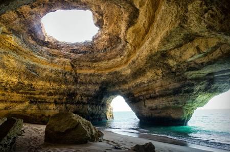 Besuch Der Höhlen Von Benagil – Von Armação De Pêra