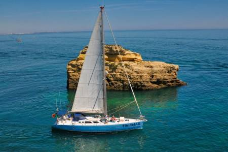 Visit The Benagil Cave On Sailing Yacht From Albufeira