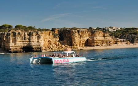 Barbecue Ausflug Nach Benagil – Catamaran Mara Abfahrt Von Albufeira
