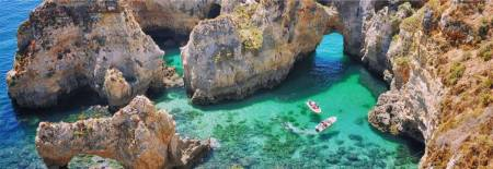 1H15 Caves Tour In The Ponta Da Piedade - Lagos