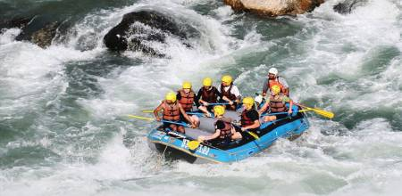 2-Day Rafting Tour In The Trisuli River With Accommodation