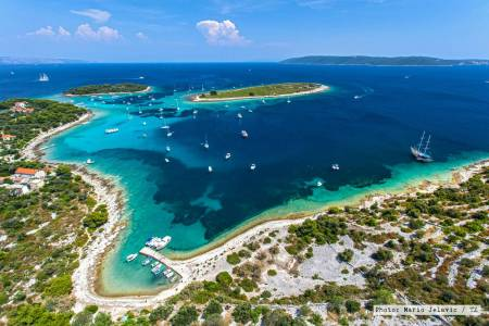 Blue Lagoon of Dalmatia