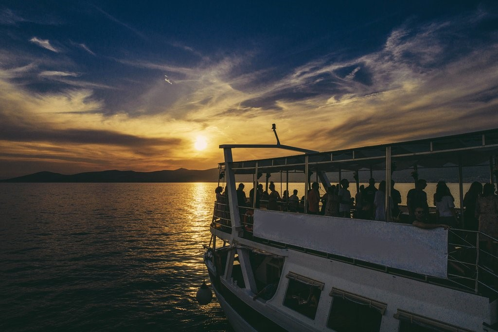 Sunset Cruise In Party Boat From Split