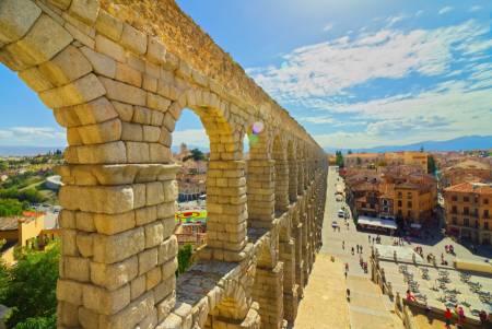 Segovia Jour De Voyage De Madrid