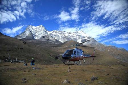 From Pokhara: Helicopter Tour To Annapurna Base Camp