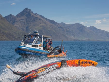 Queenstown: Boat Ride & Seabreacher Shark Experience For Group
