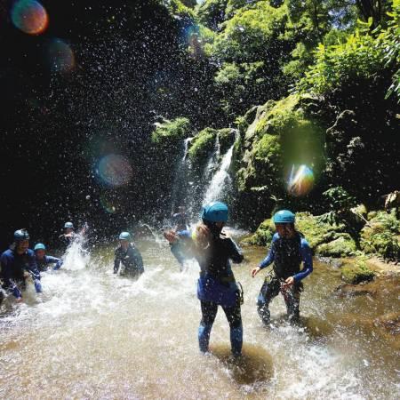 São Miguel Island: Halbtages-Canyoning In Ribeira Dos Caldeires
