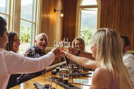 From Queenstown: 4-Hour Tour Of Wine Tasting And Craft Beer With Snacks In Gibbston