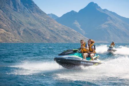 Queenstown: 1-Hour Guided Jet Ski Tour On Lake Wakatipu