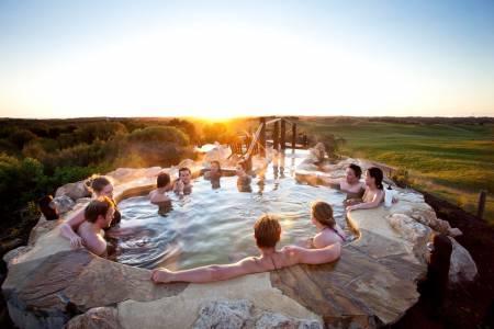 Von Melbourne: Ganztägige Tour Zu Peninsula Hot Springs