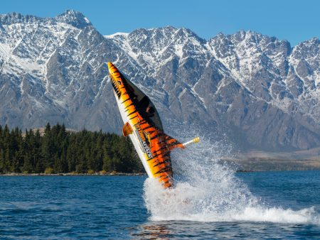 Individual Ride In The Shark Boat In Queenstown