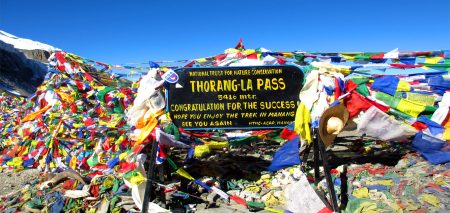 Annapurna Circuit Trek With Throng La Pass- 21 Days