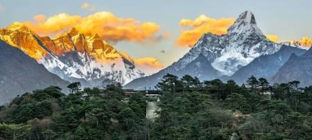 De Katmandu: Passeio De Helicóptero Ao Everest Com Café Da Manhã Em Syangboche