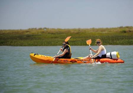 Algarve: 2-Hour Guided Kayak Tour In Ria Formosa From Faro
