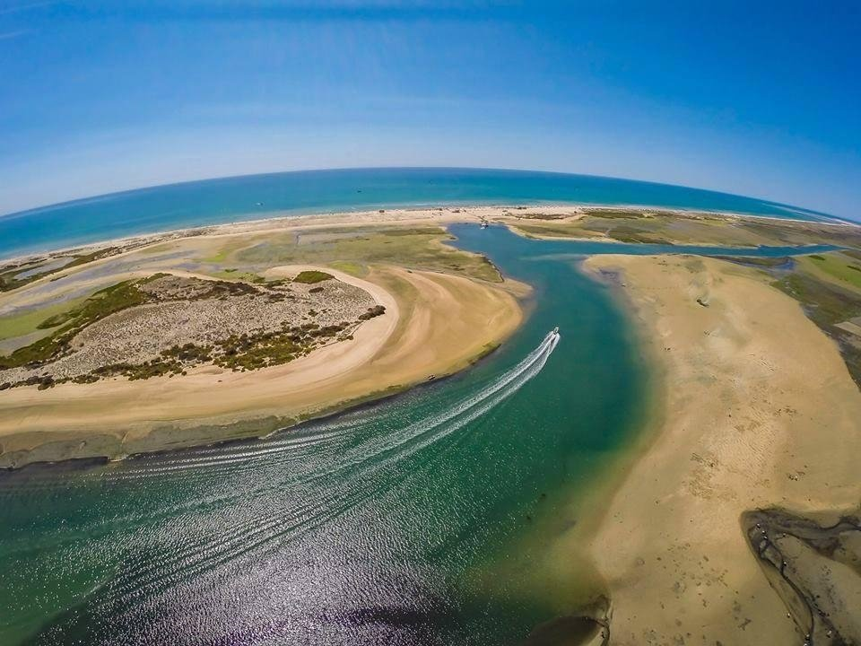 Ria Formosa Algarve Faro Portugal