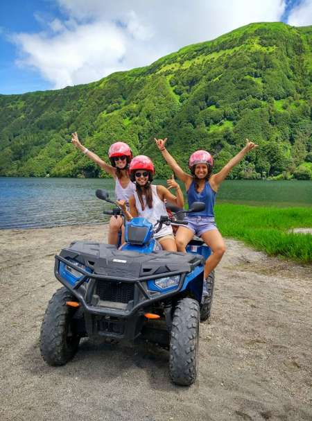 Half-Day Quad Tour To Sete Cidades Lake From Ponta Delgada