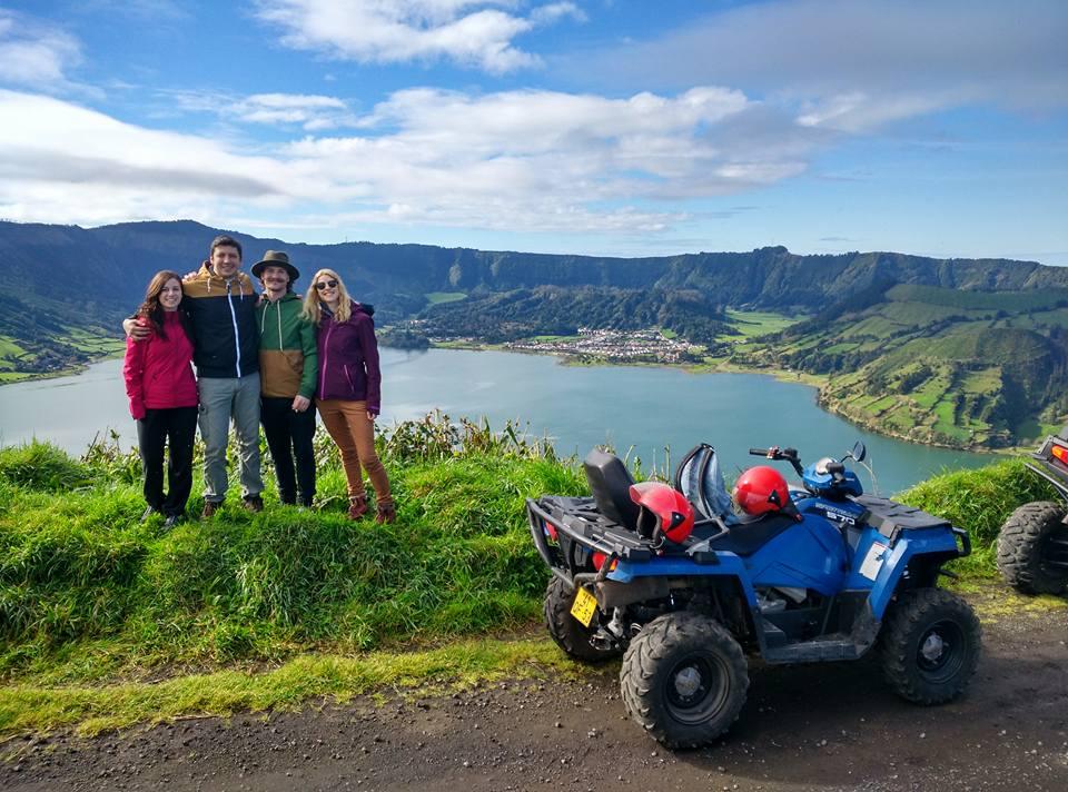 Half-Day Quad Tour To Sete Cidades Lake From Ponta Delgada