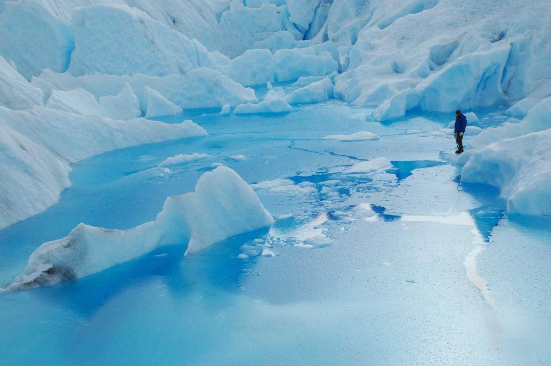 D 39 el calafate visite de la grande randonn e de glace perito moreno avec excursion en bateau for Grande glace