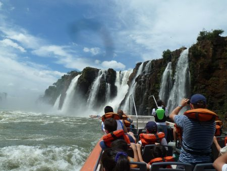 From Puerto Iguazu: Small Group Excursion To Iguazu Falls In The Argentina Side With Boat Ride