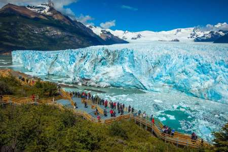 From El Calafate: Excursion To The Glacier Perito Moreno With Boat Ride