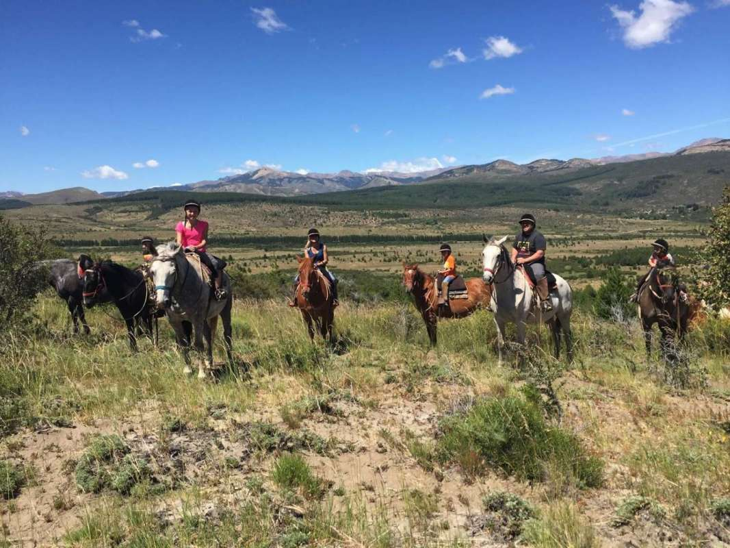 From Bariloche: Half-Day Horseback Riding Trip In Rancho San Ramon With Barbecue