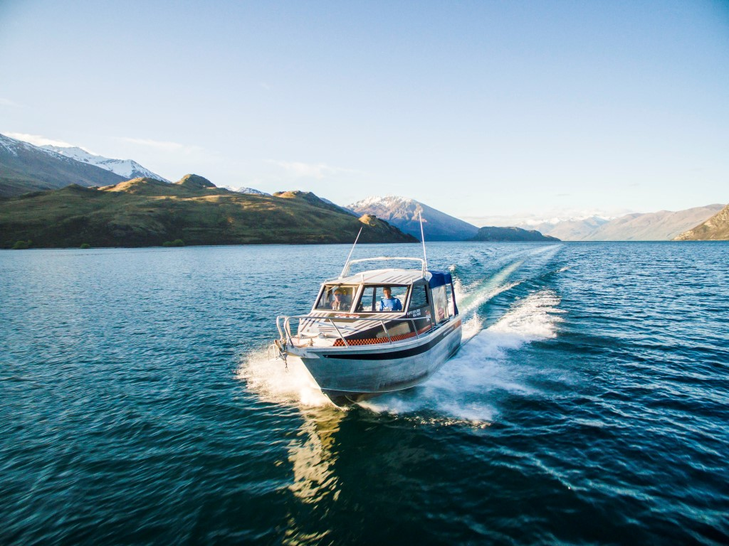 3-Hour Tour To Mou Waho Island On The Wanaka Water Taxi