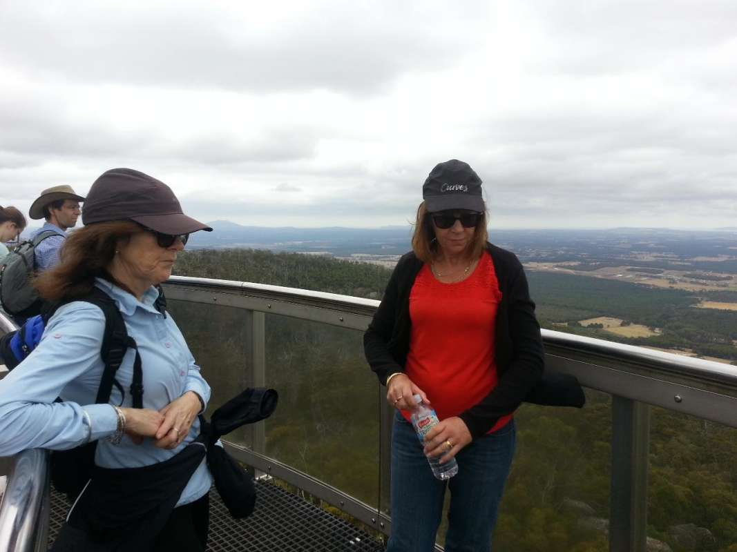 From Albany: Full-Day Tour To Porongurups National Park, The Granite Skywalk & Wine Tasting & Lunch