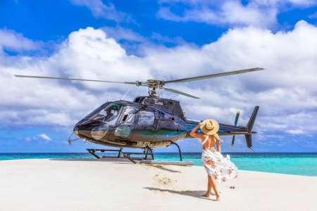 Townsville: Hubschrauberflug Entlang Des Great Barrier Reef