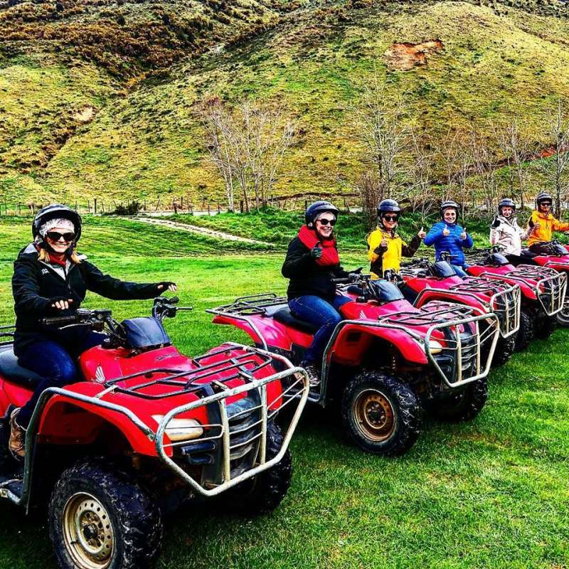 Nelson: 1.5-Hour Quad Bike Tour In The Cable Bay Adventure Park