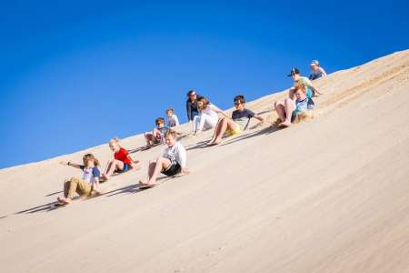 Unlimited Sandboarding Tour In The Dunes Of Port Stephens
