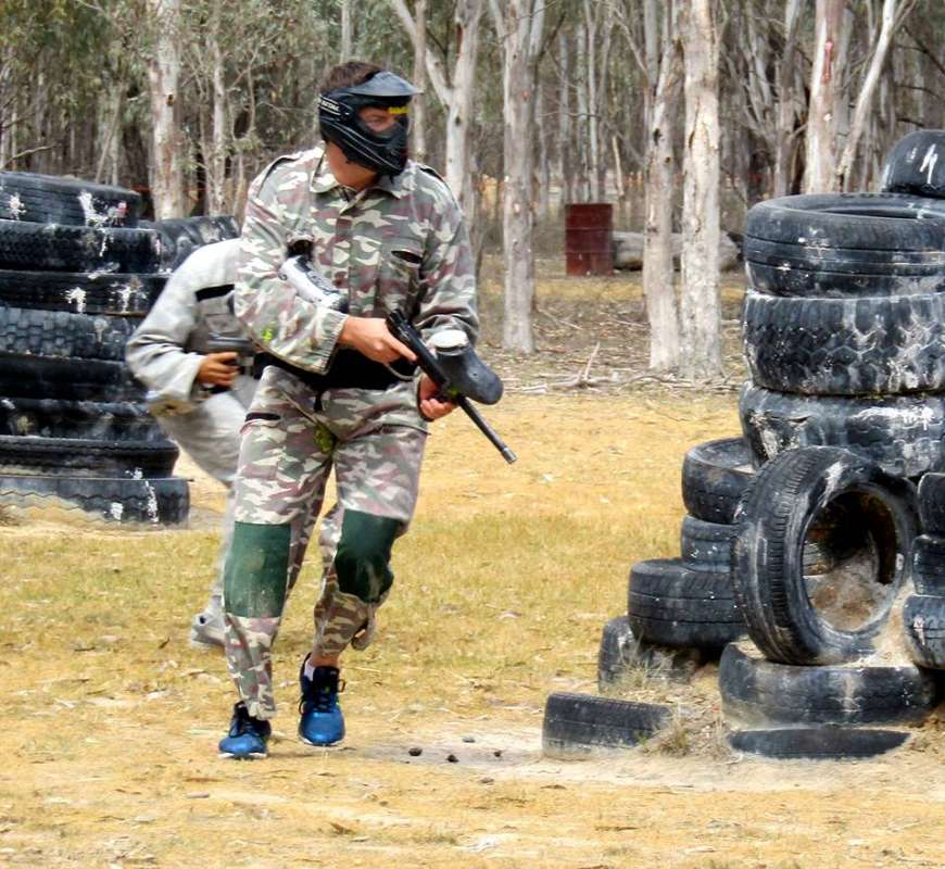 Moama: 3-Hour Paintball Session With + 200 Paint Balls