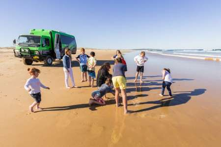 4X4 Tour To Tin City & Sandboarding In The Stockton Sand Dunes, Port Stephens