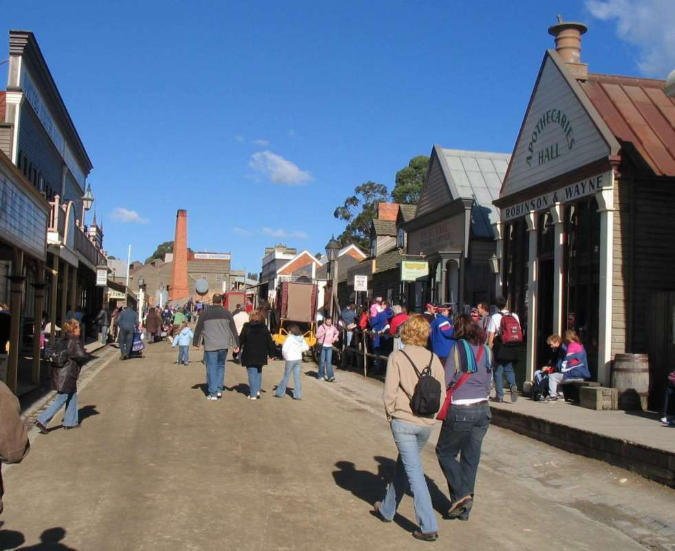 Melbourne: Excursion To Sovereign Hill The Gold Trail