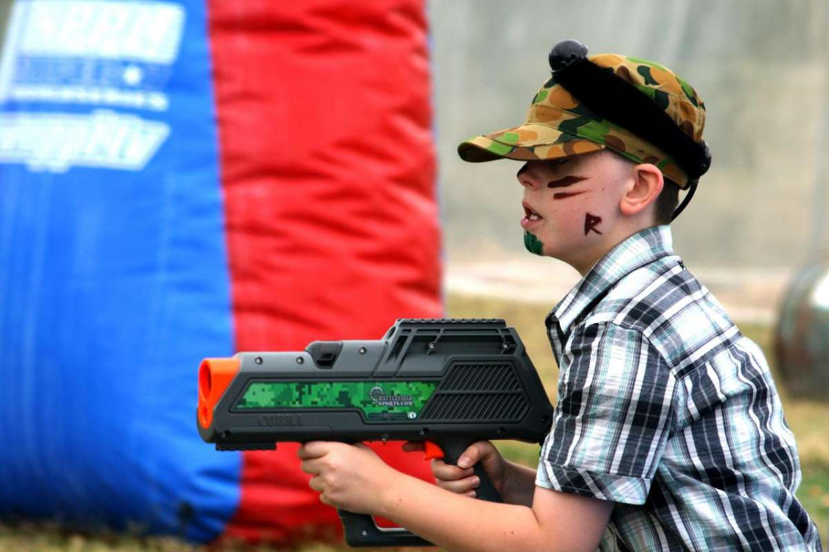 Moama: 1-Hour Outdoor Laser Tag Session