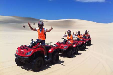 1-Hour Quad Bike Adventure Tour In The Sand Dunes On Stockton Beach, Port Stephens